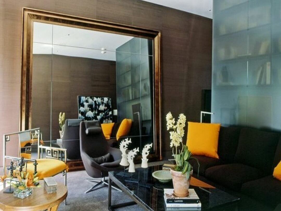 Mirror living room